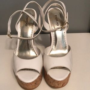 Very nice white shoes.